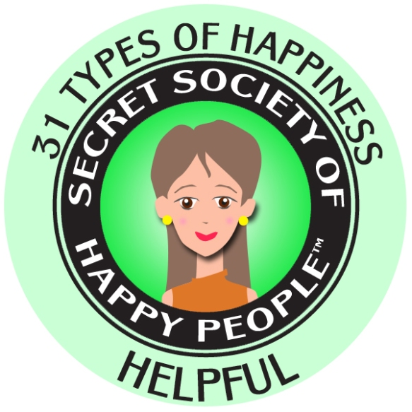 Helpful happy